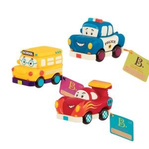 B. Toys Zestaw miękkich mini autek 2