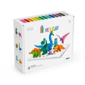 Hey Clay - masa plastyczna Dinozaury