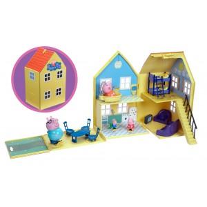 Świnka Peppa - Domek Deluxe z figurkami