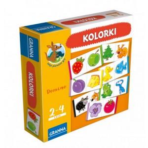 Domino kolorki - domino kolory