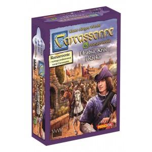 Carcassonne - Hrabia król i rzeka