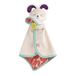 B. Toys Uroczy kocyk-przytulanka Królik