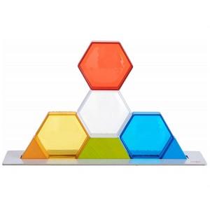 Kolorowe kryształy - gra od 3 lat