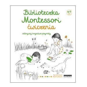Biblioteczka Montessori Ćwiczenia Odkryj bogactwo przyrody