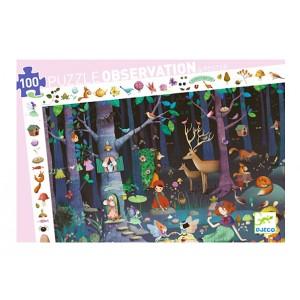 Puzzle observation - zaczarowany las