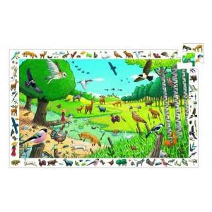 Puzzle observation - Spacer po lesie