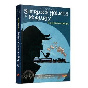 Gra - Komiks paragrafowany  Sherlock Holmes i Moriarty Konfrontacja