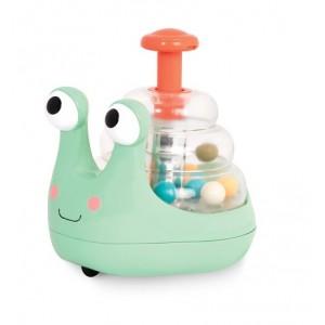 B. Toys Jeżdżący i świecący ślimak z kuleczkami