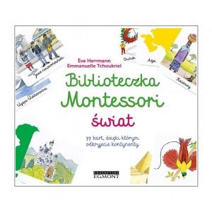 Biblioteczka Montessori - Świat