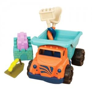 Wywrotka z zabawkami do piasku