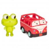 B. Toys Autko sensoryczne busik z żabką