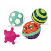 B. Toys Zestaw wyjątkowych piłek sensorycznych