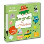 Piszę i zmazuję Bazgraki w przedszkolu