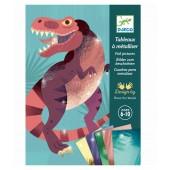 Zestaw artystyczny Dinozaury