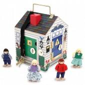 Domek edukacyjny - zamki