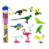 Safari Ltd  Figurki Egzotyczne ptaki