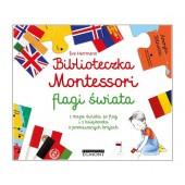Biblioteczka Montessori - Flagi Świata