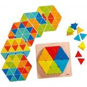 Układanka Magiczne trójkąty - gra od 2 lat