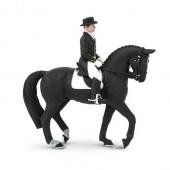 Safari Ltd  Koń Holsztyński z Jeźdźcem