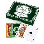 Karty do gry Liście dębu - 2 talie