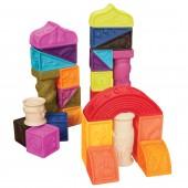 B. Toys Miękkie klocki - Elemenosqueeze