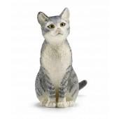 Schleich - Kot siedzący