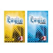 Logic cards - zestaw żółty i niebieski