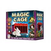 Magiczna klatka z królikiem - sztuczki magiczne