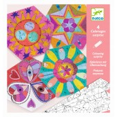 Kolorowanka Konstelacja - mandale