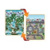 Ogromna dwustronna mata Fantasyland/Ulica
