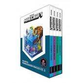 MINECRAFT Zestaw 4 podręczników 2