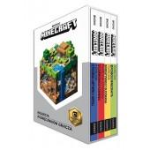MINECRAFT Zestaw 4 podręczników