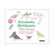 Biblioteczka Montessori - Ptaki Europy