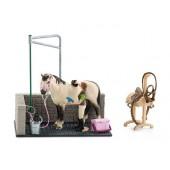 Schleich - Myjnia dla konia + ekskluzywny konik