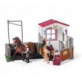 Schleich - Myjnia dla konia ze stajnią
