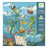 Naklejki wielorazowe - Morska przygoda