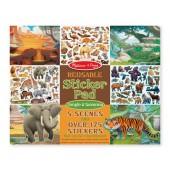 Naklejki wielorazowe - Jungla i savanna