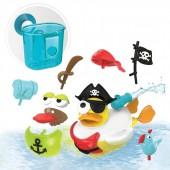 Odrzutowa kaczka pirat - zabawka do kąpieli