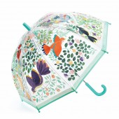 Parasolka - Ptaki i  kwiaty