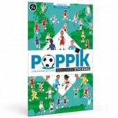 Poppik Naklejki - wyklejanka Piłka nożna