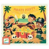 Zestaw PIRACI  PARTY 5 gier na przyjęcie