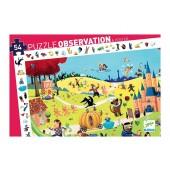 Puzzle observation - bajki