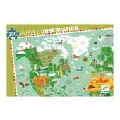 Puzzle observation - Budowle świata
