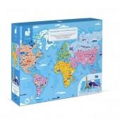 Puzzle z figurkami Cuda Świata