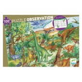 Puzzle observation -Dinozaury
