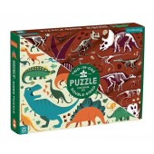 Puzzle dwustronne Dinozaury
