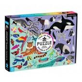 Puzzle dwustronne Królestwo zwierząt