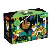 Puzzle świecące w ciemności - Las tropikalny