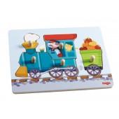 Puzzle nakładane Pociąg
