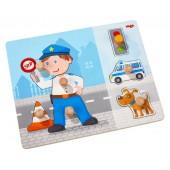 Puzzle nakładane Policja